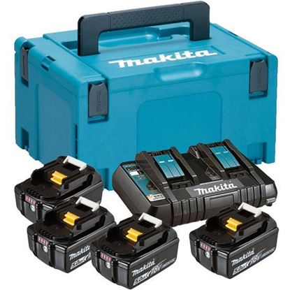 Picture of Сет Ли-Ион батерии и полнач, МАКРАС 3 куфер