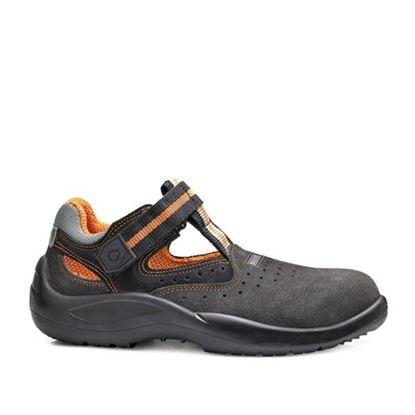 Слика на Ѕ1Р Заштитни обувки велур ниски темно кафени /44