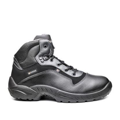 Слика на С3 Заштитни обувки кожни високи црни / 40