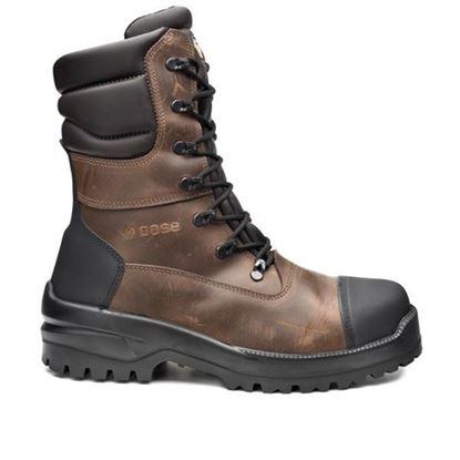Слика на Ѕ3 Заштитни кожни обувки високи црни заварува/40