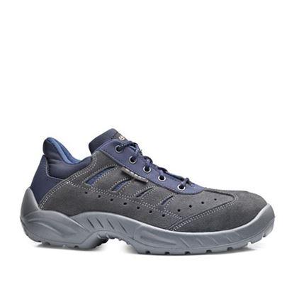 Picture of Ѕ1Р Заштитни обувки велур ниски плаво-сива /42
